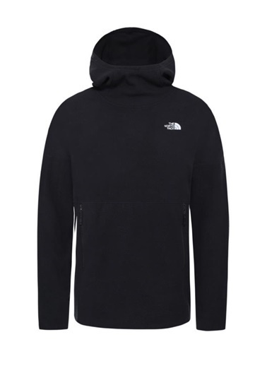 The North Face Tka Glacier Fleece Hoodie Kadın Sweatshirt Siyah Siyah